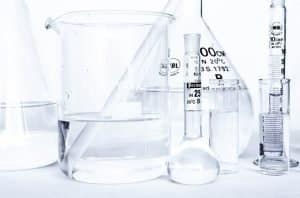 never clean with vinegar empty chemical bottles or test tubes