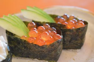 sushi on a plate complex carbohydrates weight loss