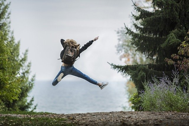 jumping for joy sustainable lifestyle