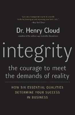 Integrity book Dr. Henry Cloud