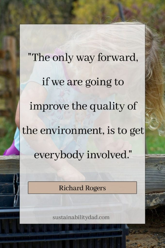 sustainability quotes involved