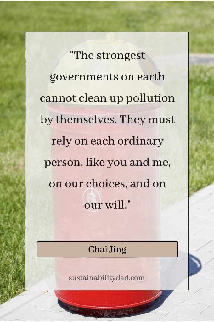Choice Plastic Waste Pollution Quotes