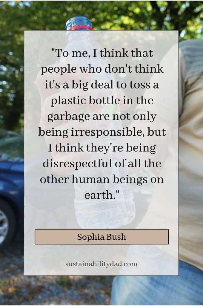 Irresponsible-Plastic-Waste-Pollution Quotes