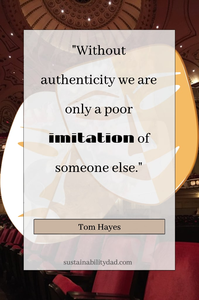 Quotes about honesty, integrity, authenticity and genuineness - poor imitation