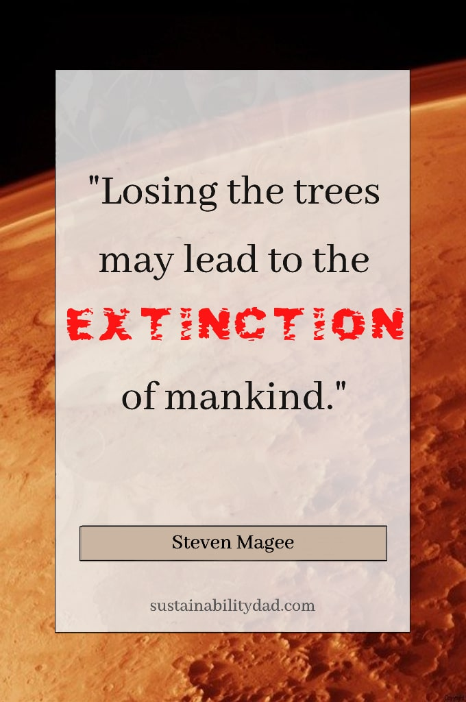 quote in fire - extinction of mankind