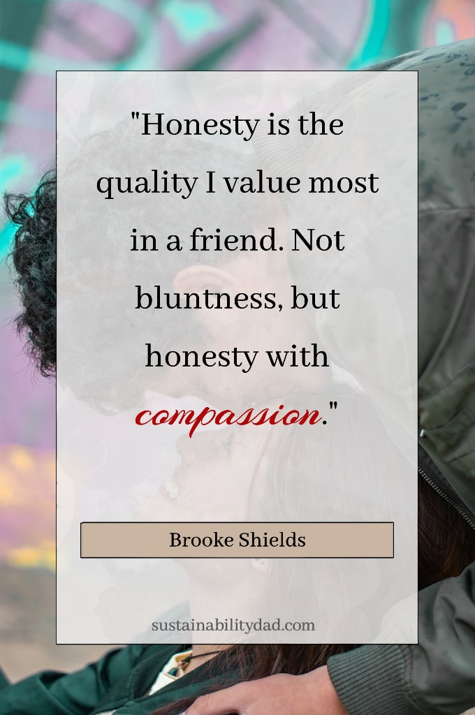 uplifting honest quotes Brooke Shields compassion