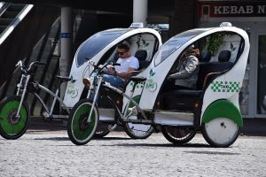 Recycling And Sustainability For The Ethical Business - Taxi Service