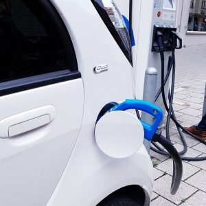 electric car charging sustainable living