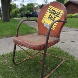 Garage sale zero waste