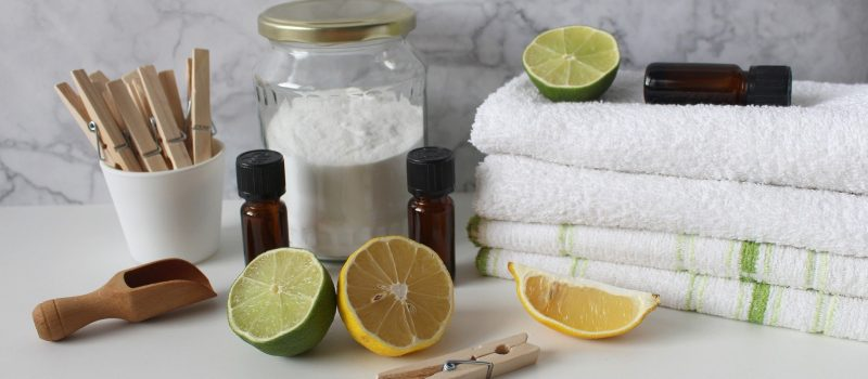natural cleaning eco-friendly kitchen